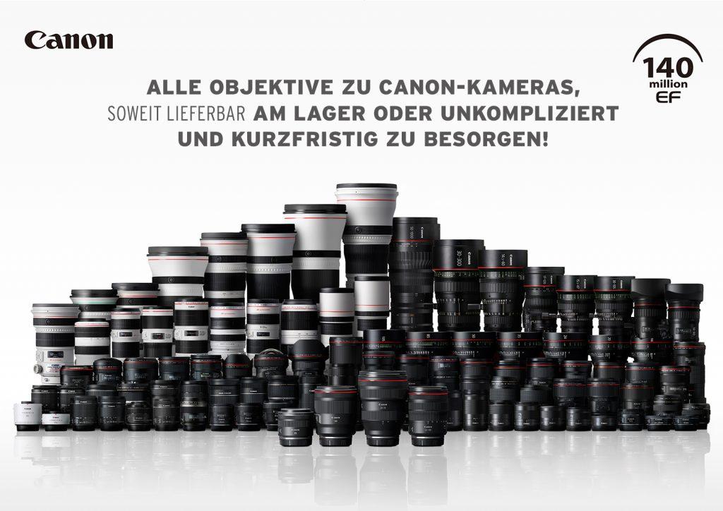 (Canon EF 140 Objektive)