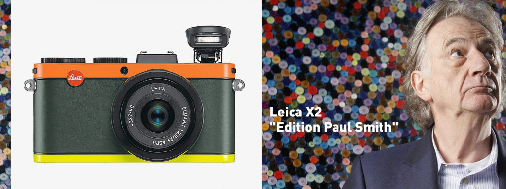 "Leica X2 ""Edition Paul Smith"""