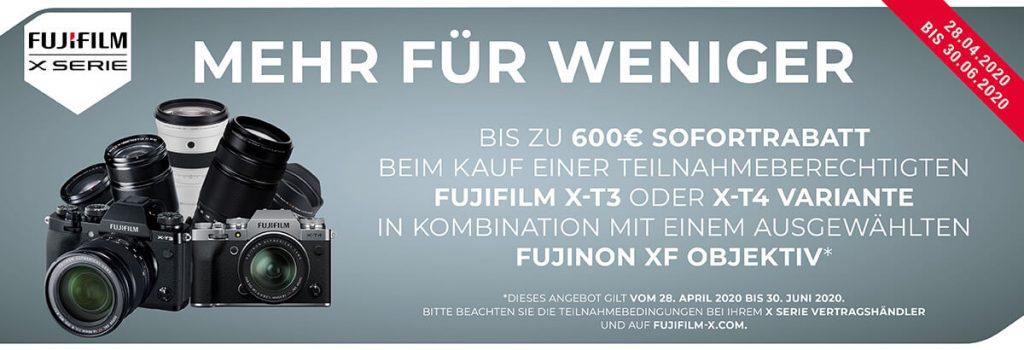 Fujifilm Sofort-Rabatt-Aktion!