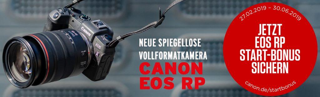 Die neue spiegellose Vollformatkamera: Canon EOS RP
