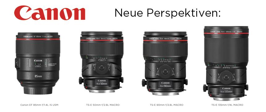 Neue Canon Objektive –
