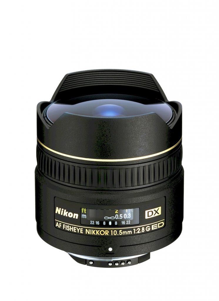 AF DX Fisheye-Nikkor 10,5 mm 1:2,8G
