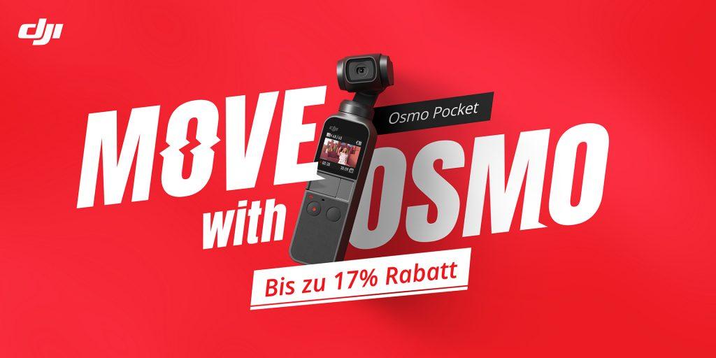 DJI  OSMO Pocket SONDERAKTION! Bis zu 17% SPAREN!!