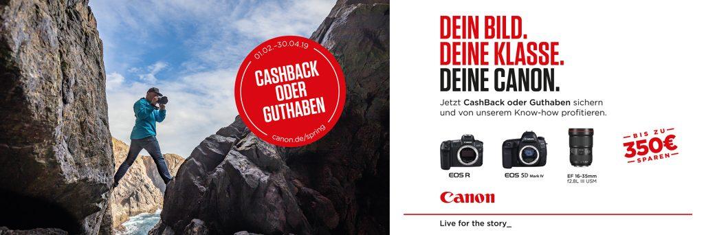 Canon Frühlings-Aktion 2019 -
