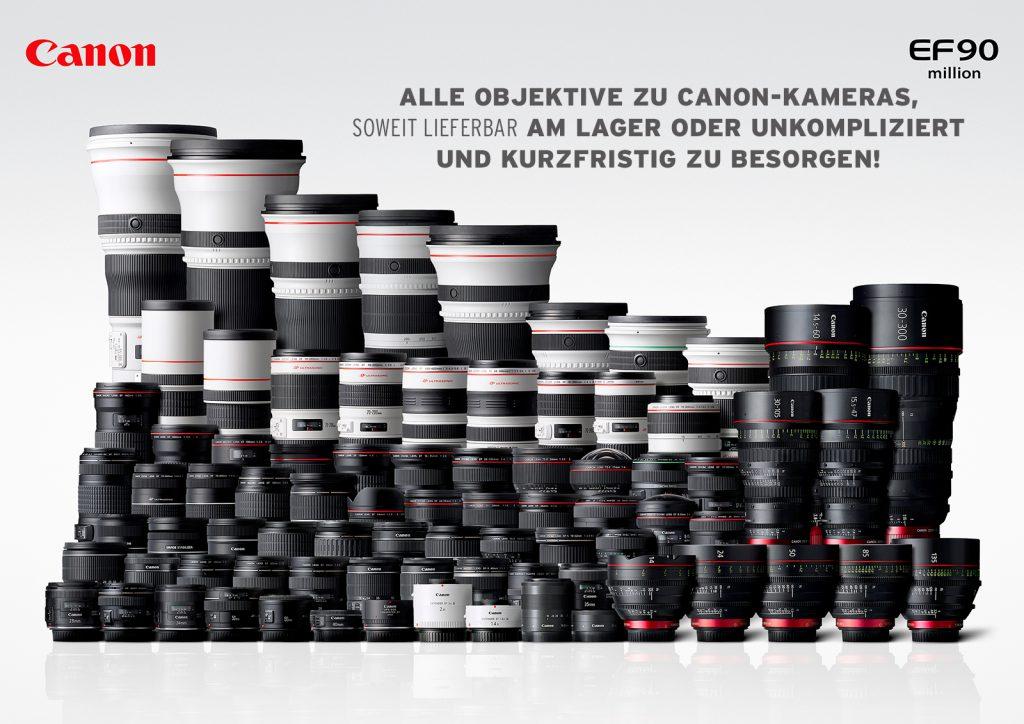 (Canon EF 90 Objektive)