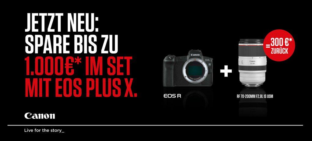 (Canon – Spare bis zu EURO 1.000,–)