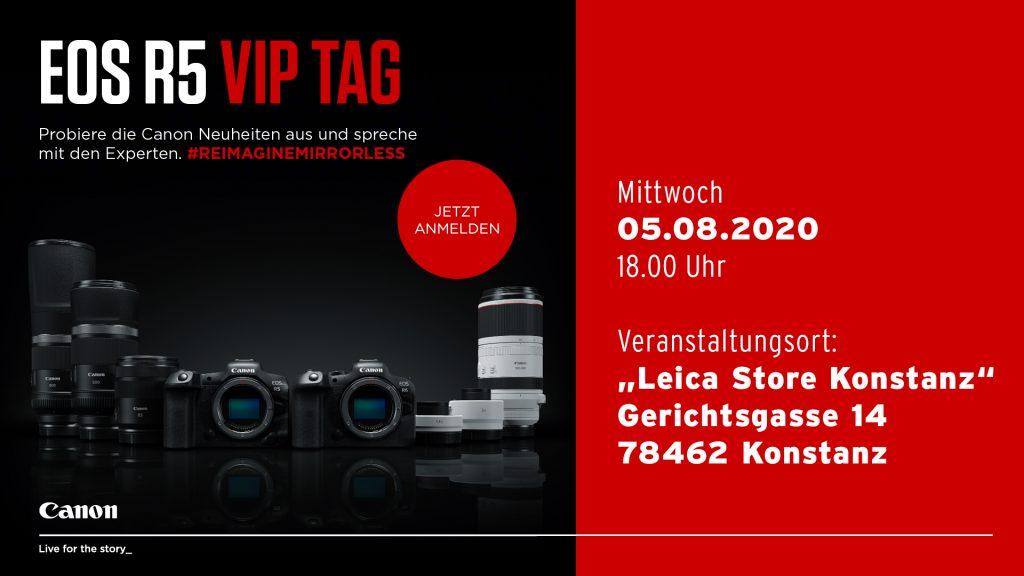 Canon: EOS R5 VIP TAG