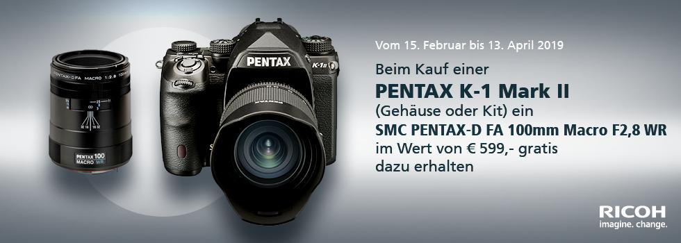 Pentax Frühlings-Aktion 2019: