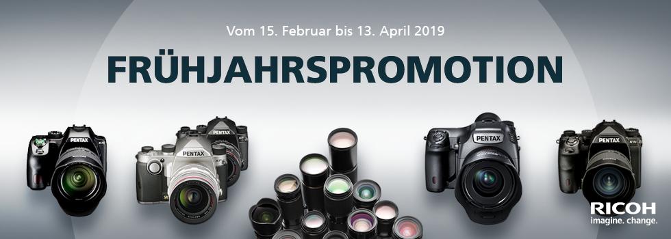 Pentax Frühlings-Aktion 2019