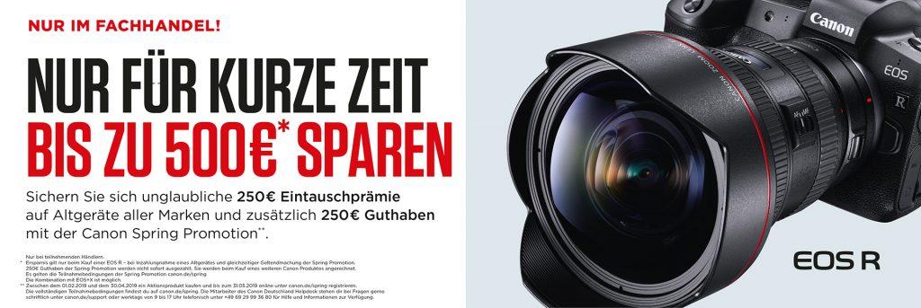 Nur im Fachhandel: NUR FÜR KURZE ZEIT – BIS ZU € 500,– SPAREN!