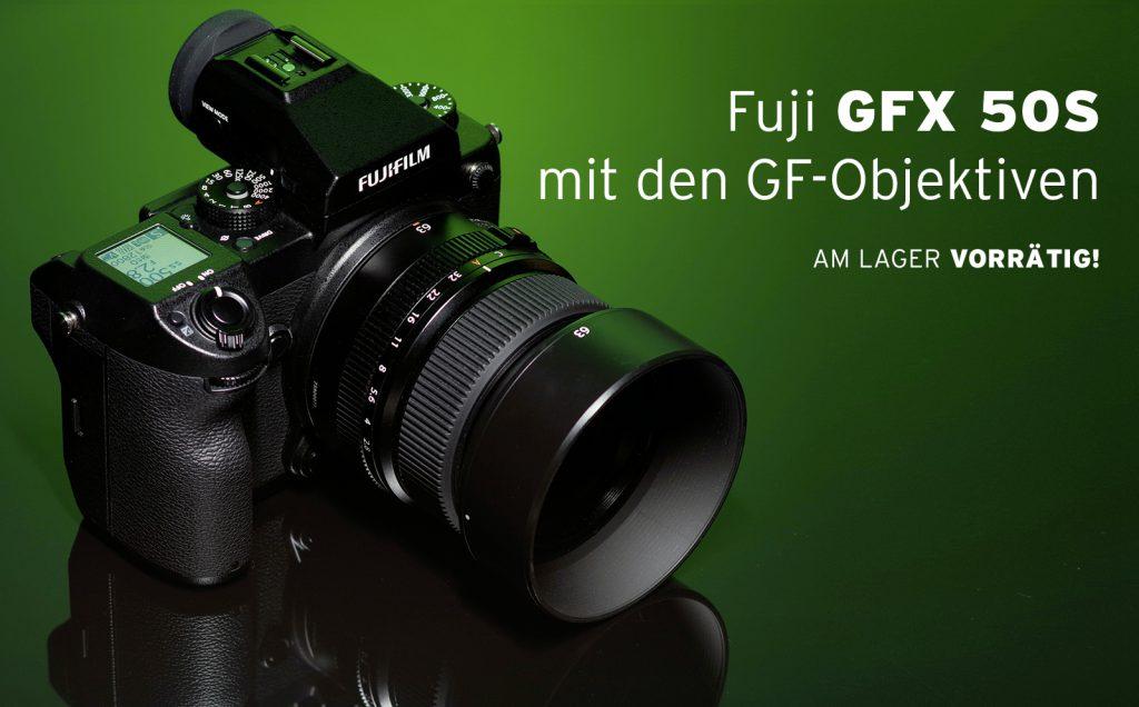 (Fuji GFX 50S mit den GF-Objektiven)