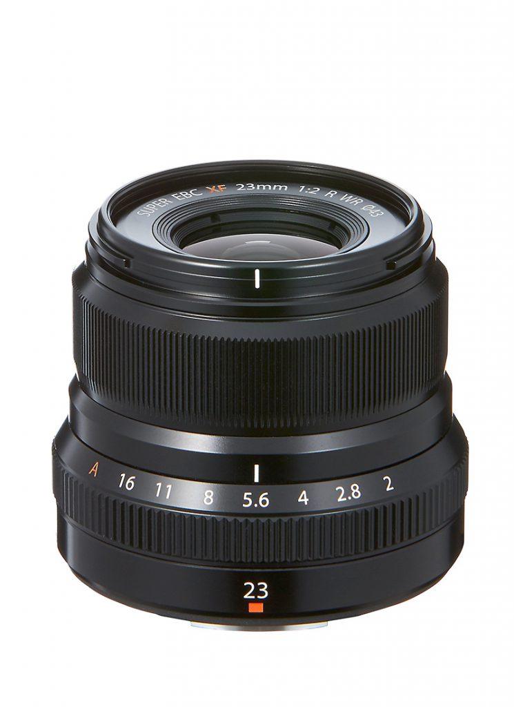 Fujinon XF 23mm f/2 R WR Schwarz