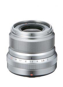 Fujinon XF 23mm f/2 R WR Silber