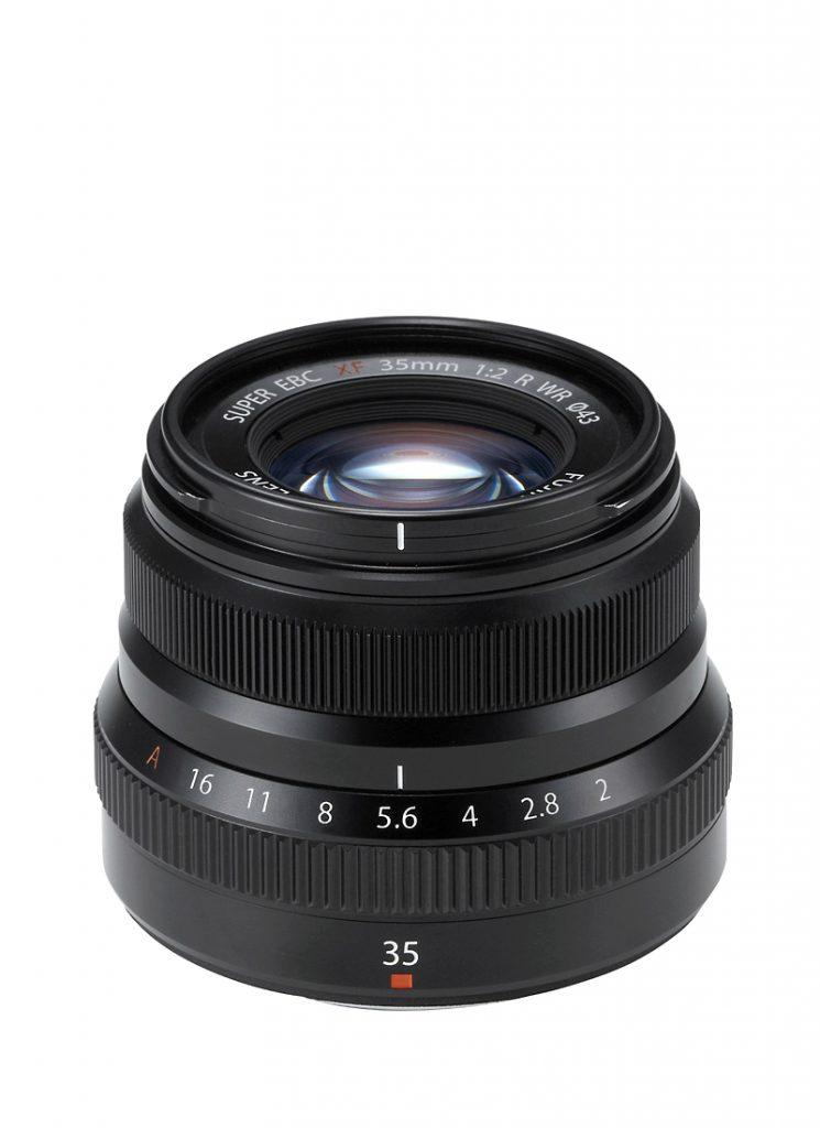 Fujinon XF 35mm f/2 R WR Schwarz