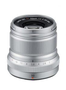 Fujinon XF 50mm f/2 R WR Silber