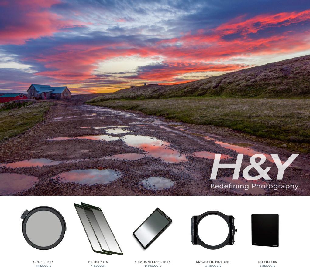 Wir führen eine große Auswahl an H&Y-Filtern.