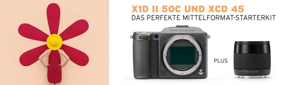 Hasselblad X1D II 50C und XCD 45 – das perfekte Starterkit !