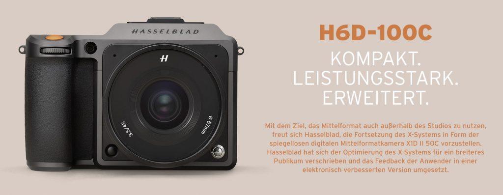 Hasselblad X1D II 50C –  KOMPAKT. LEISTUNGSSTARK. ERWEITERT.
