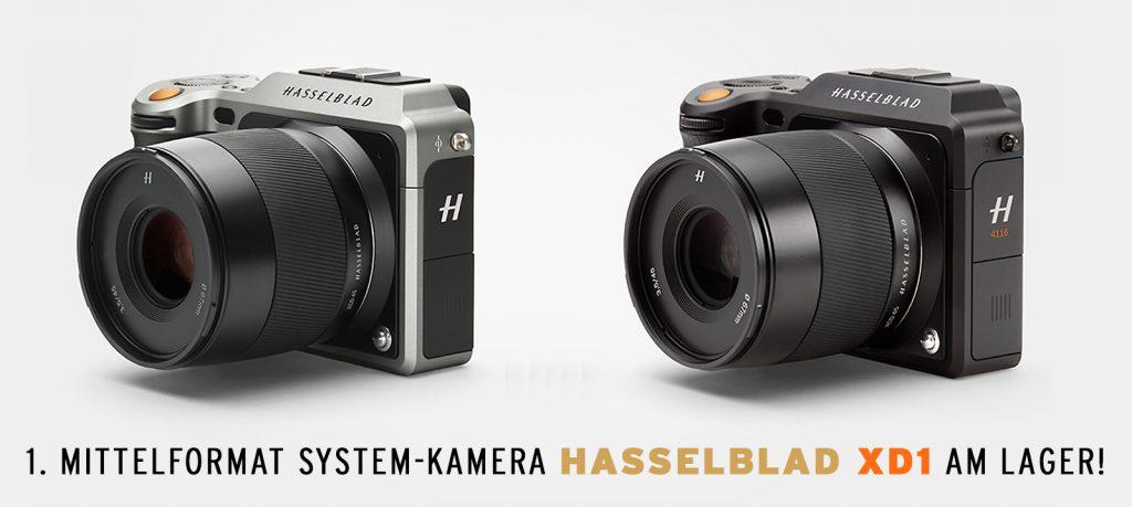 (Mittelformat System-Kamera Hasselblad XD1)