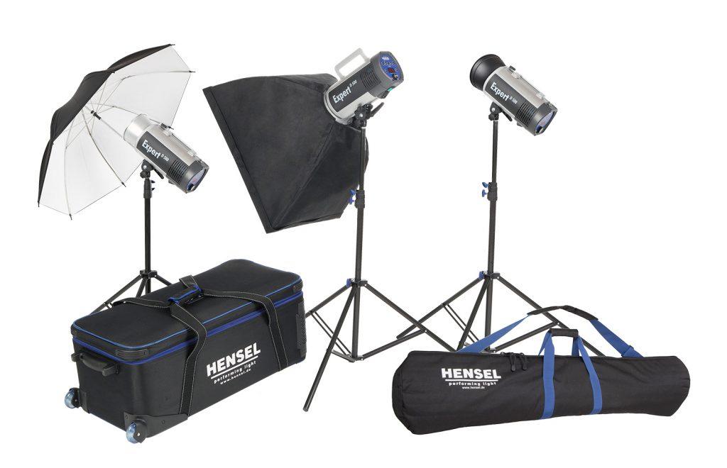 Zum Beispiel Hensel Expert D 1500-Kit