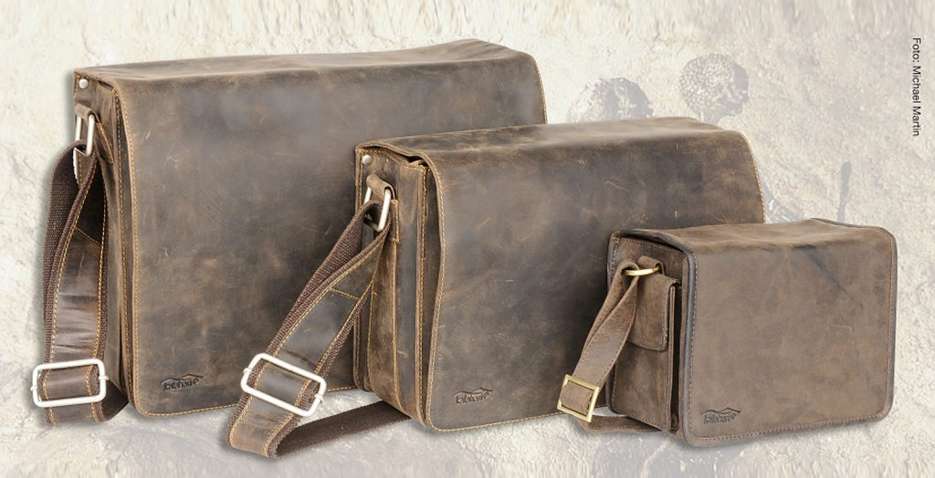 Die kalahari KAAMA Taschen-Serie aus natur-belassenem und ölgewaschenen exklusiven Büffelnder im puristischen Vintage-Look.
