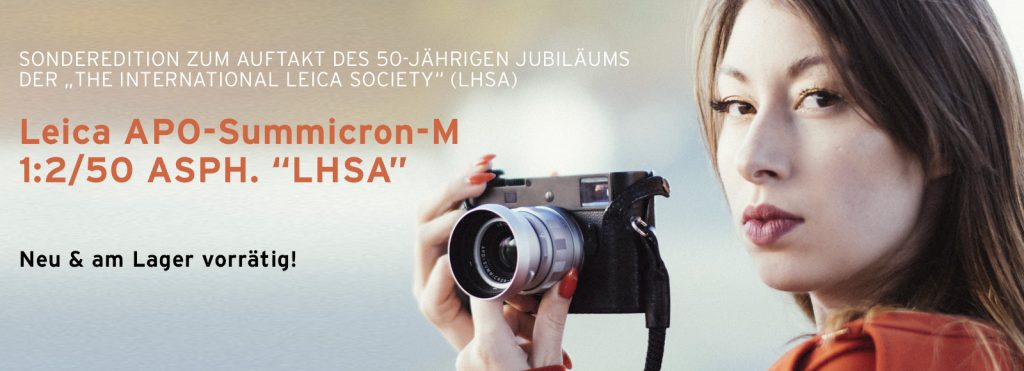 """Sonderedition Leica APO-Summicron-M 1:2/50 ASPH. """"LHSA"""""""
