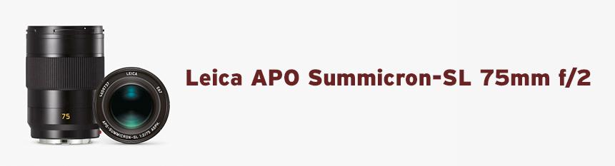 Leica APO Summicron-SL 75mm f/2 ASPH