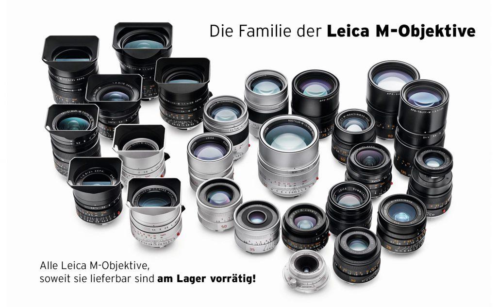 (Leica Familie der M-Objektive)