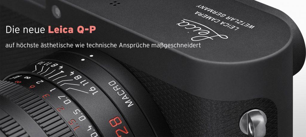 Die neue Leica Q-P –