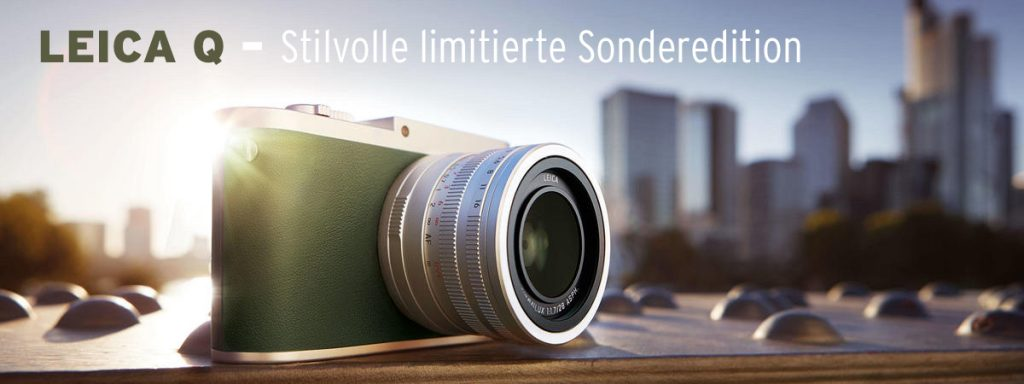 LEICA Q – Stilvolle limitierte Sonderedition