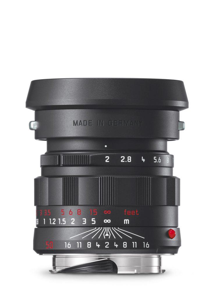 Leica APO-Summicron-M 1:2/50mm ASPH. schwarz verchromt - Limitierte Sonderedition