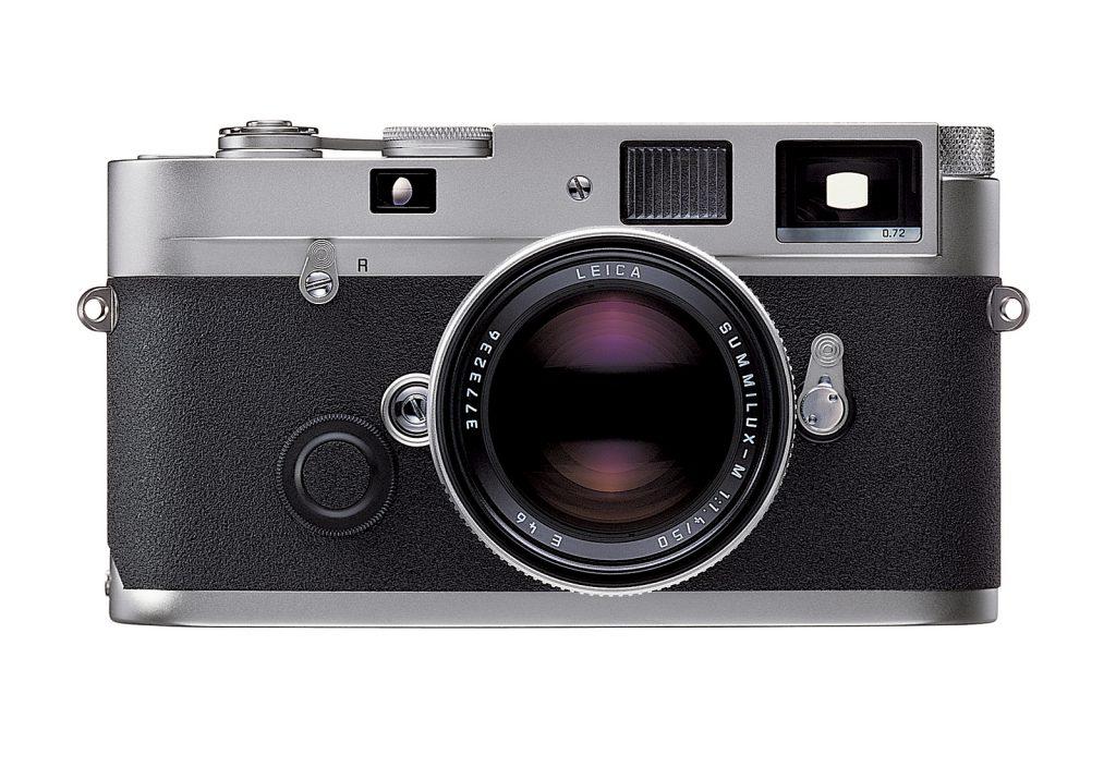 Leica M-P silbern verchromt