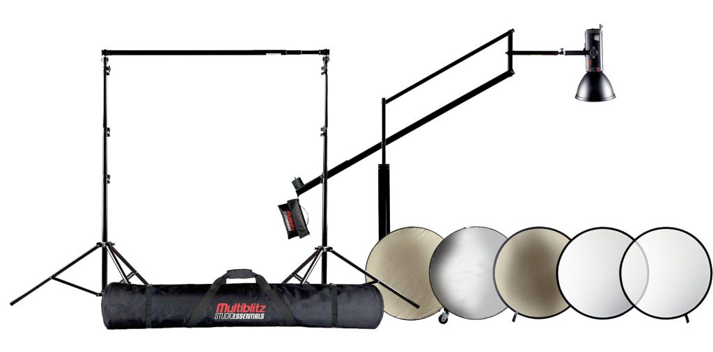Multiblitz Studio Essentials Mobiles Hintergrund System