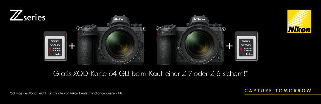 (Nikon Z-Series Gratis-XQD-Karte 64 GB)