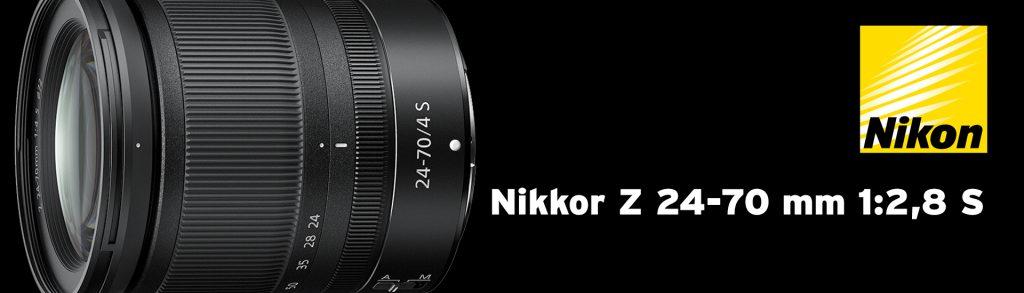 Nikkor Z 24-70 mm 1:2,8 S