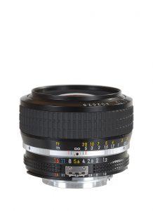 Nikkor MF 50 mm 1:1,2