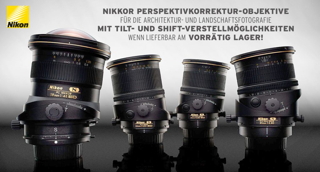 (Nikkor Shift-Objektive)