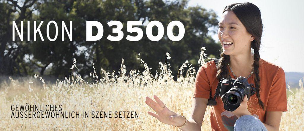Die neue Nikon D3500