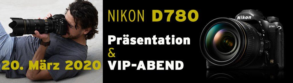 20.03.2020: Präsentation der neuen Nikon D780