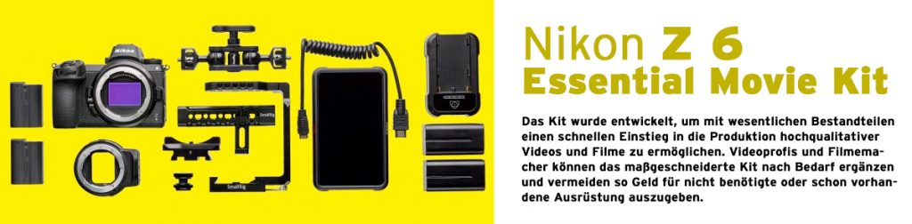 Nikon Z 6 Essential Movie Kit -