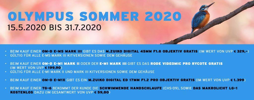 (Olympus Sommer 2020 vom 15.5.2020 bis 31.7.2020)