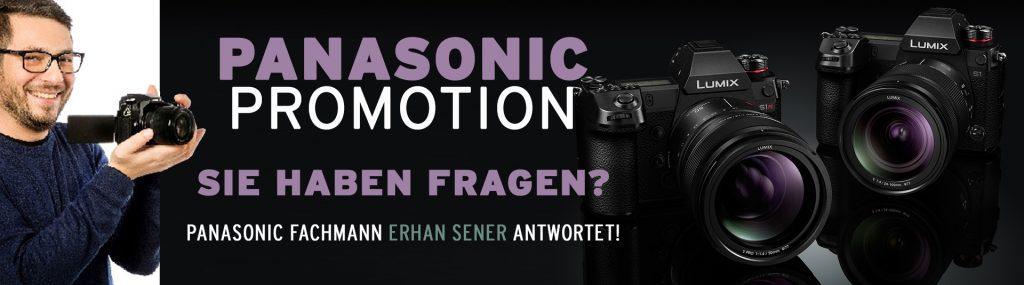Panasonic Promotion von 12. bis 14. November 2020 mit Erhan Sener!