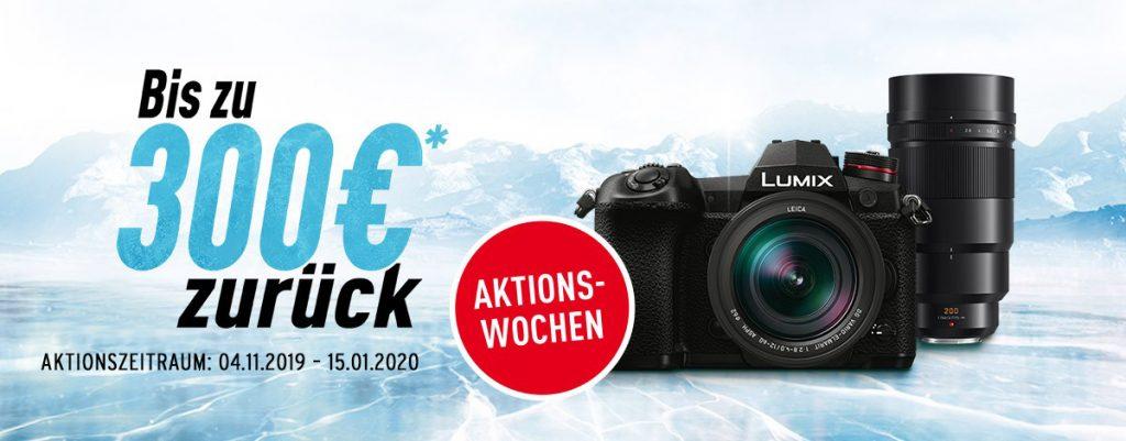 Winter Cash-Back-Aktion: Bis zu EURO 300,– beim Kauf ausgewählter Panasonic-Artikel