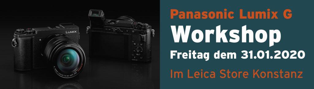 Workshop Panasonic Lumix G