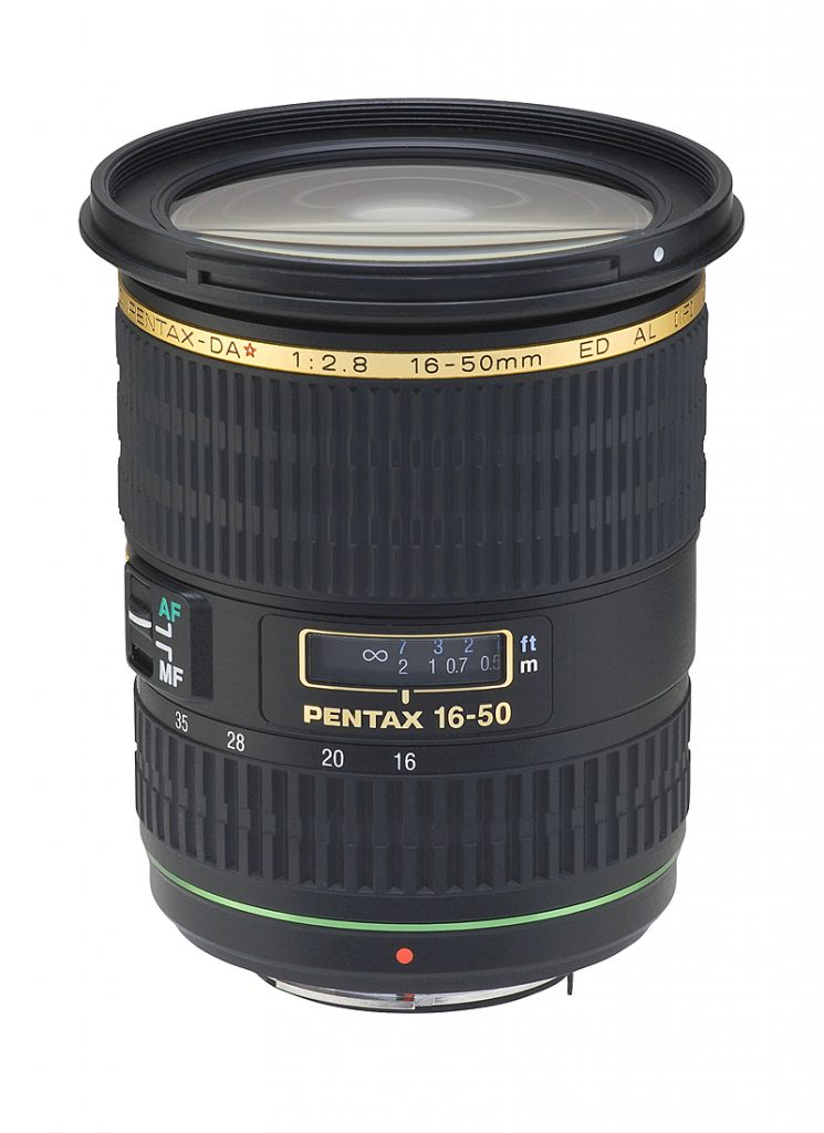 Pentax 16-50mm / f2.8 ED AL IF SDM