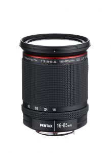 Pentax 16-85mm f/3.5-5.6 ED DC WR