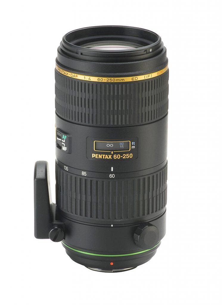Pentax 60-250mm f/4 ED SDM