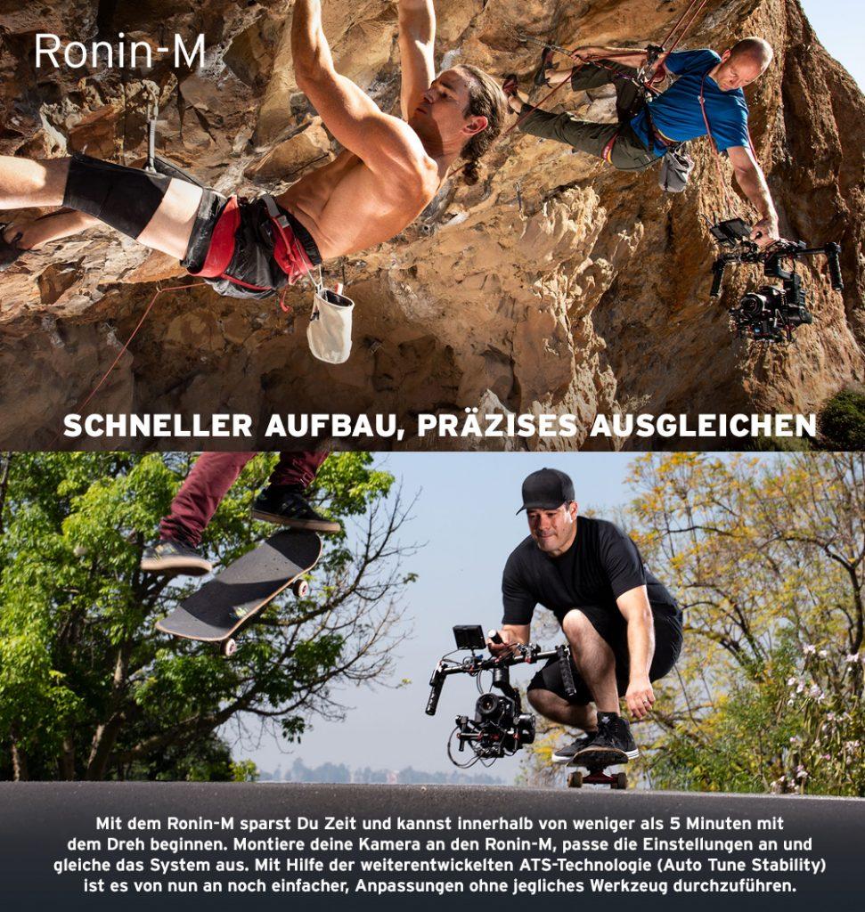 Ronin-M – Schneller Aufbau, Präzises Ausgleichen