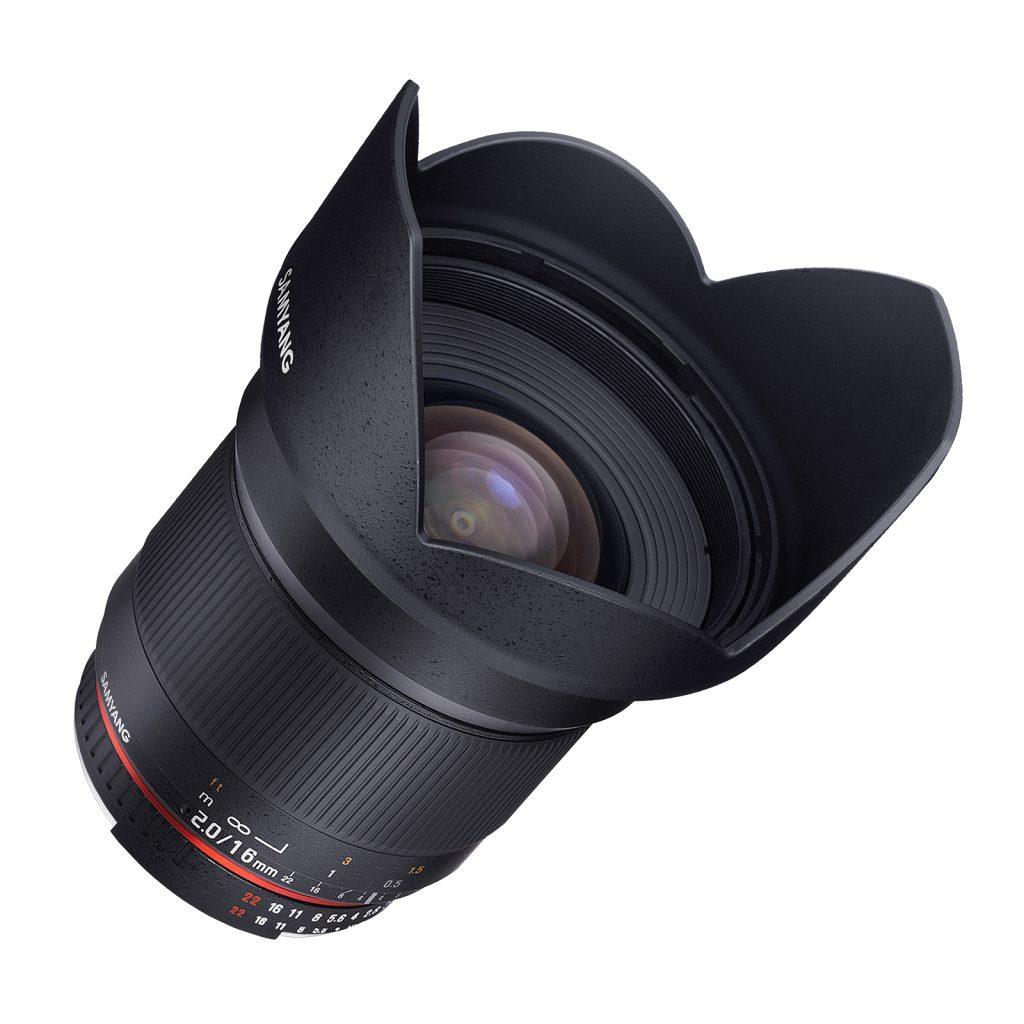 SAMYANG 16mm F2.0 -