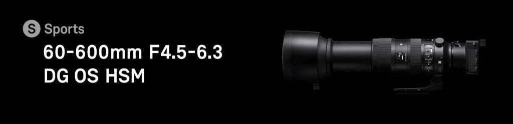 SIGMA 150–600mm F5-6.3 DG OS HSM | Sports